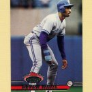 1993 Stadium Club Baseball #485 Devon White - Toronto Blue Jays