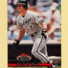 1993 Stadium Club Baseball #482 Steve Sax - Chicago White Sox