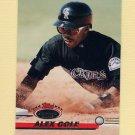 1993 Stadium Club Baseball #458 Alex Cole - Colorado Rockies