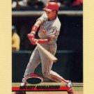 1993 Stadium Club Baseball #449 Mickey Morandini - Philadelphia Phillies