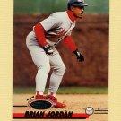 1993 Stadium Club Baseball #435 Brian Jordan - St. Louis Cardinals