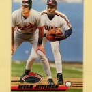 1993 Stadium Club Baseball #425 Reggie Jefferson - Cleveland Indians