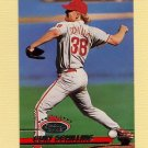 1993 Stadium Club Baseball #422 Curt Schilling - Philadelphia Phillies