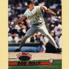 1993 Stadium Club Baseball #421 Bob Walk - Pittsburgh Pirates