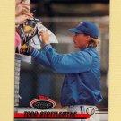 1993 Stadium Club Baseball #409 Todd Stottlemyre - Toronto Blue Jays