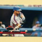 1993 Stadium Club Baseball #404 Howard Johnson - New York Mets