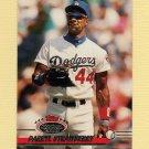 1993 Stadium Club Baseball #398 Darryl Strawberry - Los Angeles Dodgers