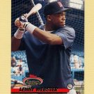 1993 Stadium Club Baseball #380 Lenny Webster - Minnesota Twins