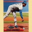 1993 Stadium Club Baseball #365 Pedro Martinez - Los Angeles Dodgers