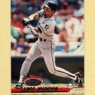 1993 Stadium Club Baseball #359 Lance Johnson - Chicago White Sox