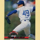 1993 Stadium Club Baseball #346 Frank Castillo - Chicago Cubs