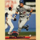 1993 Stadium Club Baseball #342 Billy Ashley - Los Angeles Dodgers