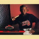 1993 Stadium Club Baseball #338 Terry Pendleton - Atlanta Braves