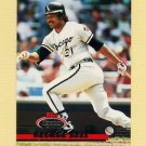 1993 Stadium Club Baseball #330 George Bell - Chicago White Sox