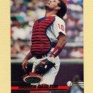 1993 Stadium Club Baseball #313 Darren Daulton - Philadelphia Phillies