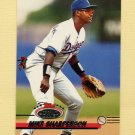 1993 Stadium Club Baseball #307 Mike Sharperson - Los Angeles Dodgers