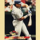 1993 Stadium Club Baseball #297 Juan Gonzalez MC - Texas Rangers