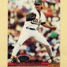 1993 Stadium Club Baseball #256 Vince Horsman - Oakland A's
