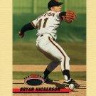 1993 Stadium Club Baseball #217 Bryan Hickerson - San Francisco Giants