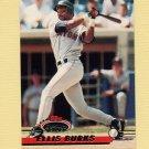 1993 Stadium Club Baseball #187 Ellis Burks - Boston Red Sox