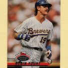 1993 Stadium Club Baseball #173 Robin Yount - Milwaukee Brewers
