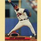 1993 Stadium Club Baseball #161 Jeff Reardon - Atlanta Braves