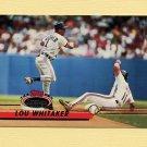 1993 Stadium Club Baseball #135 Lou Whitaker - Detroit Tigers