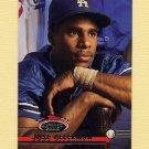 1993 Stadium Club Baseball #129 Jose Offerman - Los Angeles Dodgers