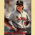 1993 Stadium Club Baseball #121 Rene Gonzales - California Angels