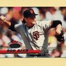 1993 Stadium Club Baseball #081 Rod Beck - San Francisco Giants