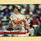 1993 Stadium Club Baseball #080 Mike Bordick - Oakland A's