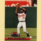 1993 Stadium Club Baseball #056 Mike Devereaux - Baltimore Orioles