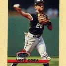 1993 Stadium Club Baseball #054 Joey Cora - Chicago White Sox