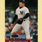 1993 Stadium Club Baseball #053 Bob Wickman - New York Yankees