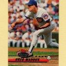 1993 Stadium Club Baseball #002 Greg Maddux - Chicago Cubs