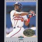 1997 Score Premium Stock Baseball #246 Marquis Grissom - Atlanta Braves