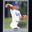 1997 Score Premium Stock Baseball #220 Greg Gagne - Los Angeles Dodgers