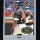 1997 Score Premium Stock Baseball #205 Jeffrey Hammonds - Baltimore Orioles