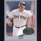 1997 Score Premium Stock Baseball #191 Jeromy Burnitz - Milwaukee Brewers