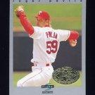 1997 Score Premium Stock Baseball #161 Roger Pavlik - Texas Rangers