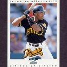1997 Score Baseball #313 Jermaine Allensworth - Pittsburgh Pirates