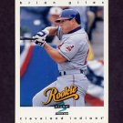 1997 Score Baseball #309 Brian Giles RC - Cleveland Indians