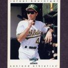 1997 Score Baseball #305 Rafael Bournigal - Oakland A's