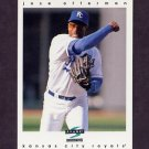 1997 Score Baseball #302 Jose Offerman - Kansas City Royals