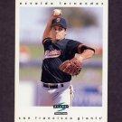 1997 Score Baseball #300 Osvaldo Fernandez - San Francisco Giants