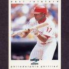 1997 Score Baseball #298 Desi Relaford - Philadelphia Phillies