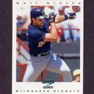 1997 Score Baseball #285 Matt Mieske - Milwaukee Brewers