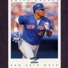 1997 Score Baseball #278 Butch Huskey - New York Mets
