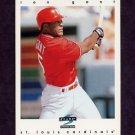 1997 Score Baseball #268 Ron Gant - St. Louis Cardinals