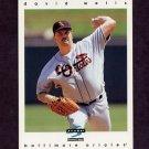 1997 Score Baseball #256 David Wells - Baltimore Orioles